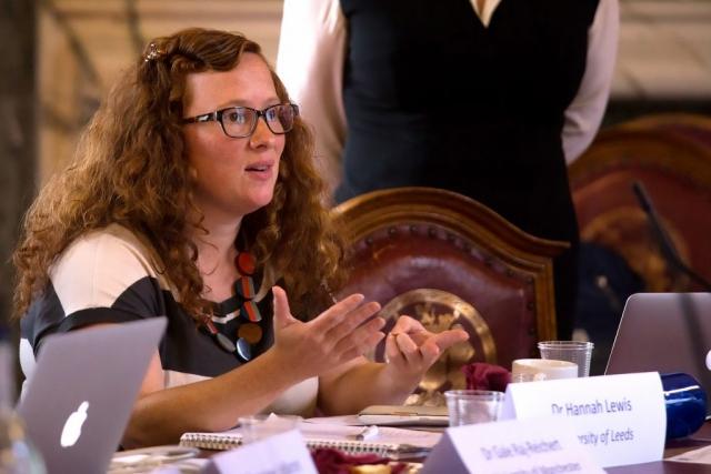 Dr Hannah Lewis, University of Leeds